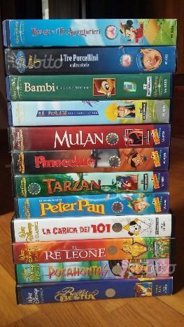 VHS Disney Classici originali