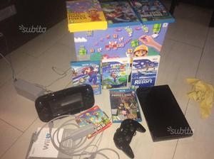 Wii u 32gb premium edition con 8 giochi