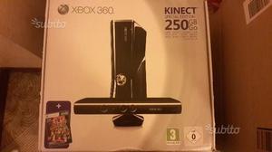 Xbox360 Slim 250 Gb con kinekt volante e 14 giochi