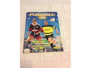 Album panini fussball bundesliga 98 completo ottimo