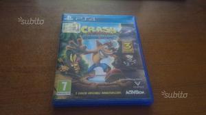 Crash Bandicoot N. Sane Trilogy PS4 Pari al nuovo
