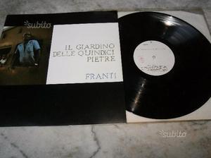 Franti Il Giardino delle Quindici Pietre LP Punk