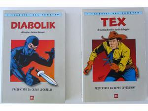 I Classici del Fumetto BUR - Diabolik + Tex