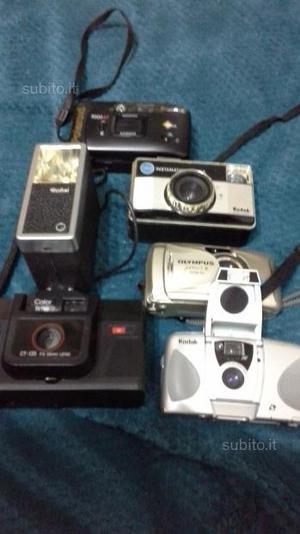 Macchine fotografiche anni 80