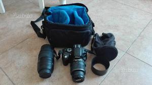 Nikon reflex digitale d  + obbiettivi