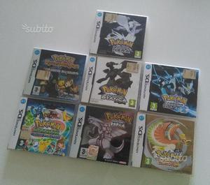 POKEMON per Nintendo DS e 3DS (Heartgold, Perla.)
