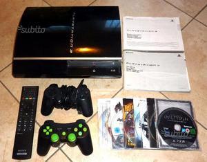 Playstation 3 FAT 70 Giga 2 joystick 8 giochi