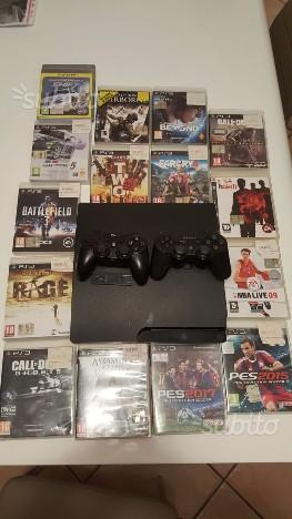 Ps3 slim con 16 giochi