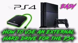 Sony PS4 1TB memoria esterna usb