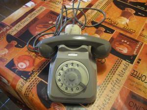 Telefono vintage a rotella Bigrigio Siemens