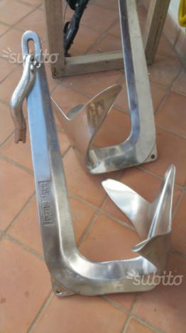 Bruce acciaio inox 15 kg