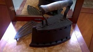 Ferro da stiro a carbone della metà dell'800