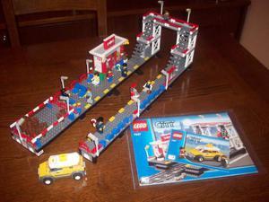 Lego city stazione treno ampliata