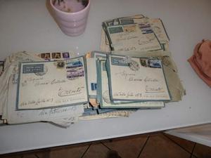 Lotto corrispondenza eritrea colonie italiane militare