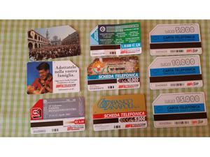 Lotto di 350 Schede Telefoniche Italiane, Straniere,
