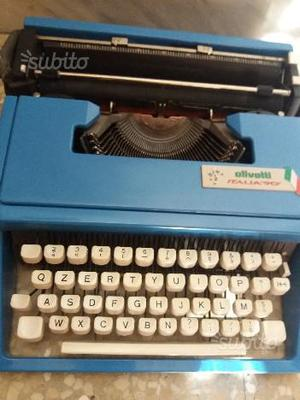 Macchina per scrivere Olivetti Italia 90