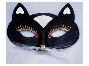 Maschera gatto nera carnevale teatro travestimenti