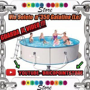 Piscina rigida tonda Hydrium Splasher 360X90H
