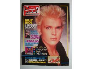 Rivista CIAO  Anno  n.17 Billy Idol-Madonna