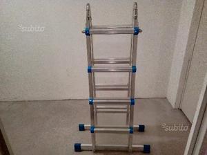 Scala estensibile alluminio