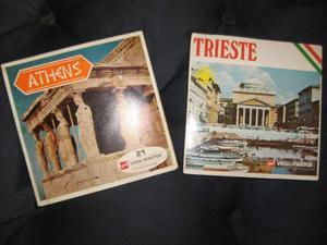 Serie 3 dischetti View Master ATHENS