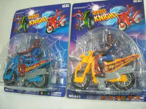Stock 24 moto con spiderman-uomo ragno anni 90