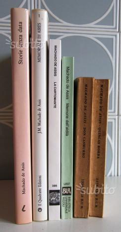 6 libri di Joaquim Maria Machado de Assis
