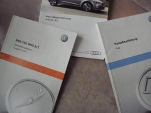 Betriebsanleitung Audi a3-s3- Polo 6r rns 310 rns 315