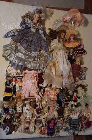 Collezione Bambole Porcellana