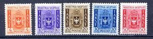 Colonie  albania segnatasse s.9
