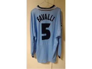 Favalli lazio match worn issued maglia originale umbro