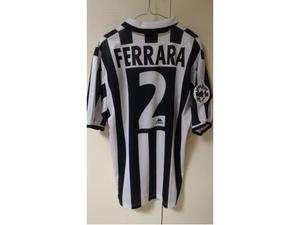 Ferrara juventus match worn issued maglia Napoli originale