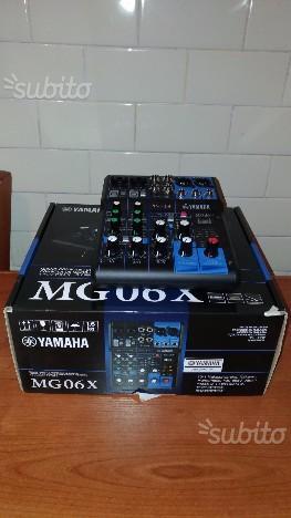 Mixer 6 canali