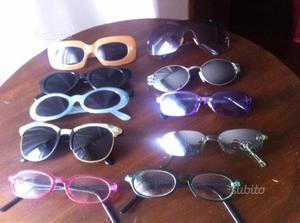 Occhiali vintage da collezione(prezzi vari)