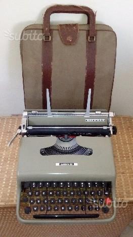 Olivetti lettera 22 anni 50 con custodia