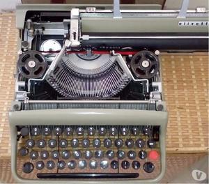 Olivetti lettera 22 macchina da scrivere anni 50 e custodia