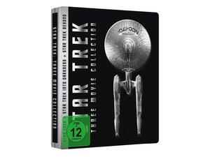 Star Trek Three Movie Collection Steelbook ITA (3 BLU RAY)