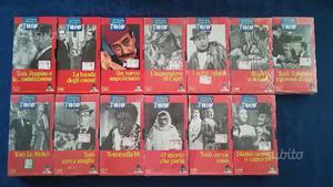 13 VHS Il Grande Cinema di Totò
