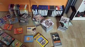Cassette, cd, vhs in stock