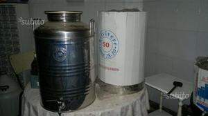 Contenitore acciaio x olio