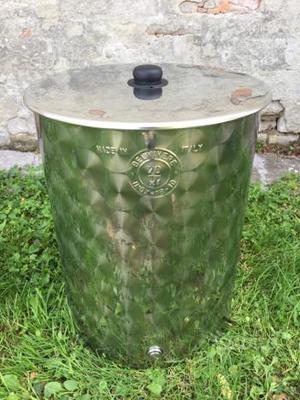 Contenitore in acciaio inox 70 LT per olio o vino