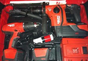 Hilti kit a batterie tassellatore avvitatore