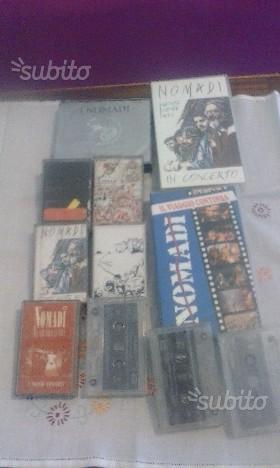 NOMADI - VHS, CD, Musicassette