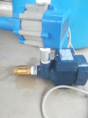 Pompa motore autoclave completa di pressostato