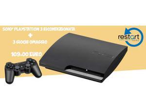 Sony Playstation 3 con giochi