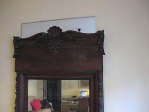 Specchio da appoggio con cornice lavorata in posot class - Specchio da appoggio ...