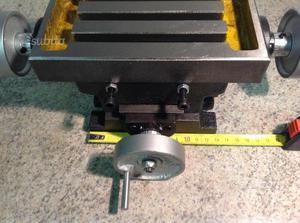 Micro tavola a croce con supporto mandrino posot class - Tavola a croce per trapano ...