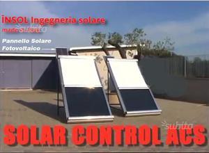 Tendina INSOL coprire pannelli solari automatica