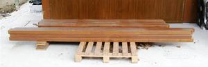 Travetti in legno di abete lamellare