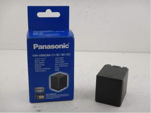VW-VBN260 Batteria ORIGINALE Panasonic con SCATOLA Originale